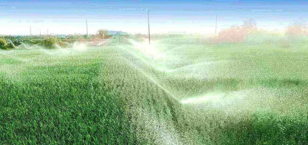 závlahové systémy poľnohospodárstvo